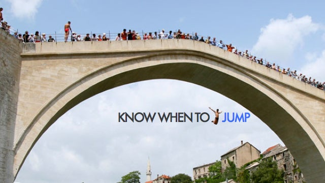 If all your friends jumped off a bridge, would you jump too?