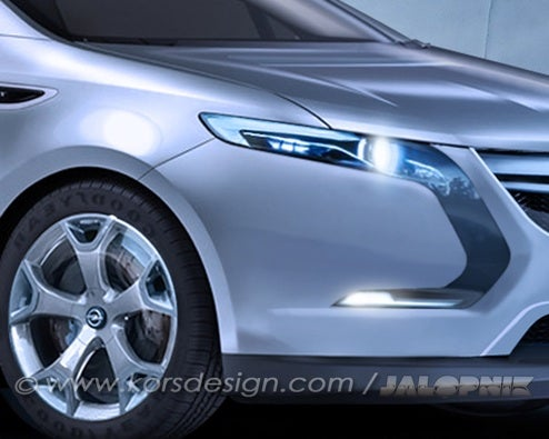 Opel Volt: Chevy Volt To Get Re-Badged For Europe