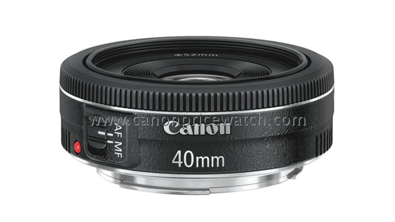 Is Canon's First Pancake Lens Ready for Its Close-up?