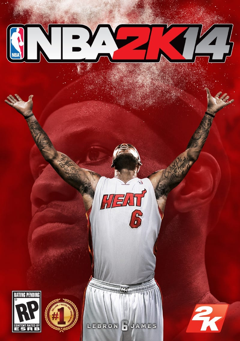 A Pair of Kings: NBA 2K14 Gets LeBron James for Its Cover