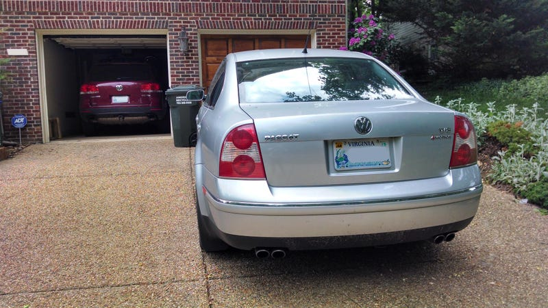 Someone owns two AMAZING Volkswagens