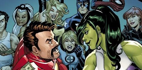 Iron Man + Pulp Heroes + Girls = This Week's Comics