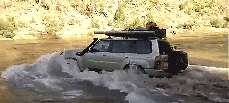 Driving Through A River Is Way More Exciting When You Almost Don't Make It