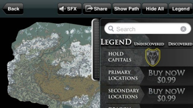 New Skyrim App Brings 'Free-To-Play' To Cartography