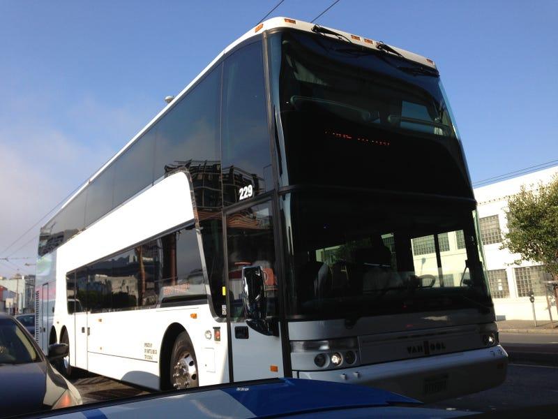 Hey Look, It's the Google Bus!