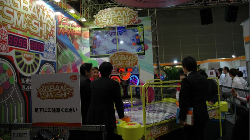 It Was a Whole Day of Japanese Arcade Games