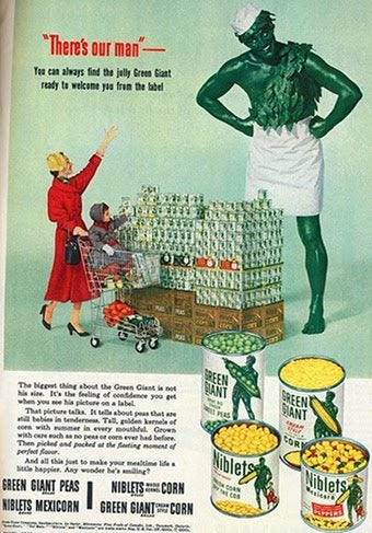 Jolly Green Giant Was Not Always So Jolly