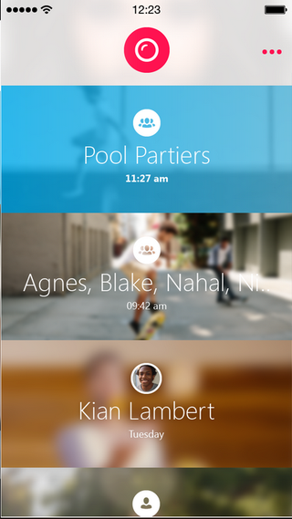 Skype's New Group Video Messaging App Takes a Late Cue from Snapchat