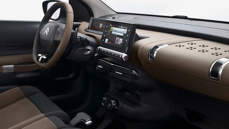 Weird New Citroën C4 Cactus Has Air-Filled Shock-Absorbing Body Panels