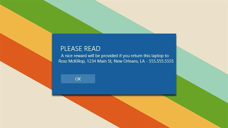 how to make a custom windows 7 login screen