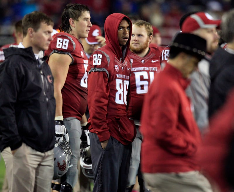 Marquess Wilson Exits Washington State With A Letter Alleging Mental And Physical Abuse From Mike Leach's Coaching Staff
