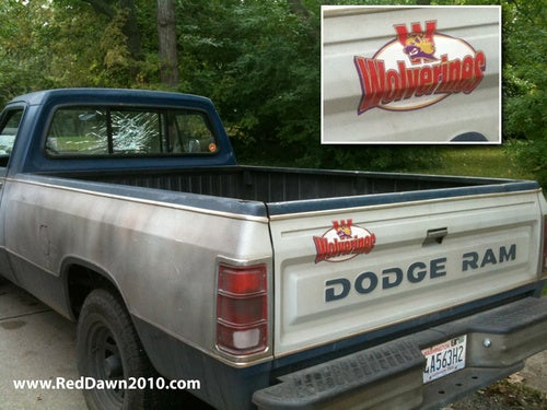 Commie Killing Pickup Spied On Set Of Red Dawn Remake
