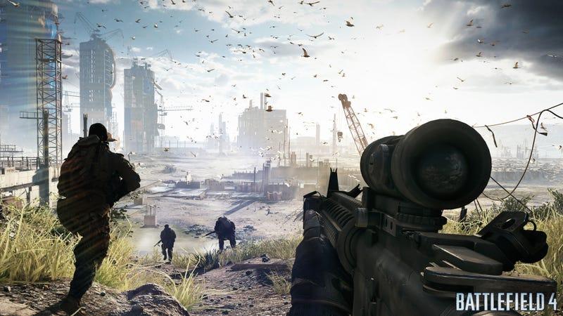 Here, Your First Battlefield 4 Screenshots