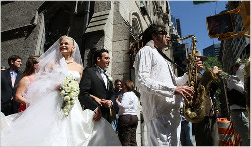 Scoring Sunday's Nuptials: You Aren't Married 'Til the Fat Lady Sings