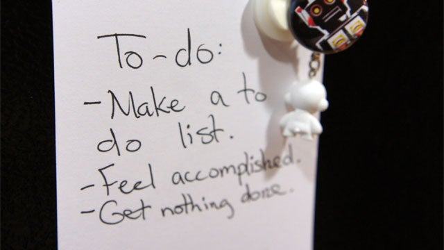How to Use To-Do Lists to Kill Your Productivity
