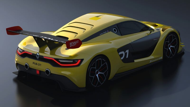The Renaultsport R.S. 01 Is The Mid-Engined GT-R You Always Wanted