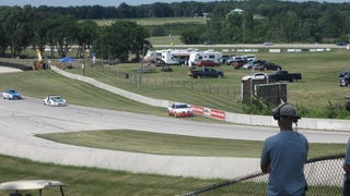 How not to load a racecar onto a flatbed