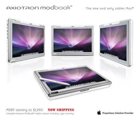 Axiotron's Modbook Now Shipping