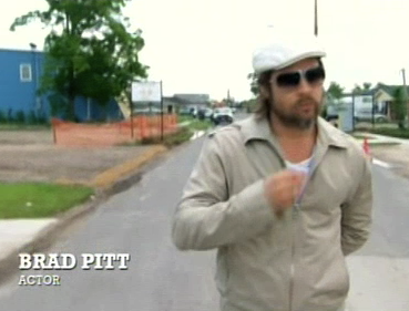 Brad Pitt is New Orleans' Ninth Ward Superhero