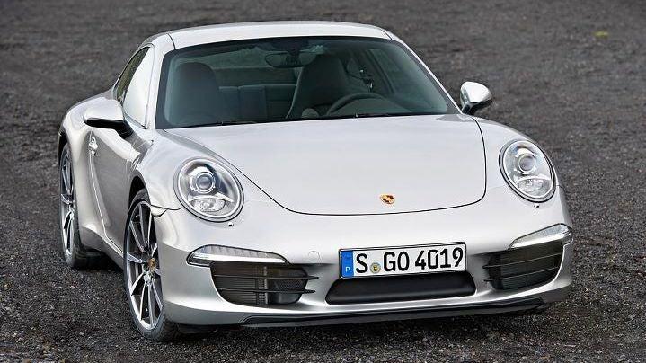 2012 Porsche 911, as official as it gets