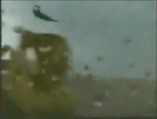 Kite Surfer Goes Out During Tropical Storm, Learns Valuable Lesson About the Power of Nature