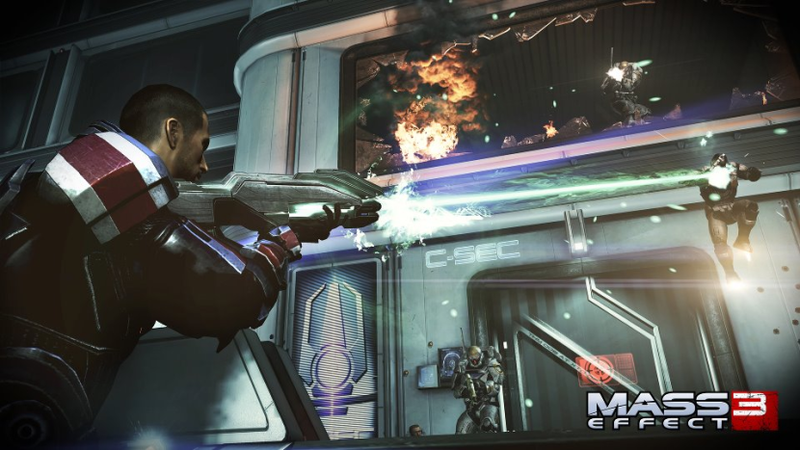 This Gallery Contains Spoilers and It Concerns Mass Effect