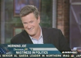 Joe Scarborough's 'Team' Asks for, Receives Special Treatment from Newsweek