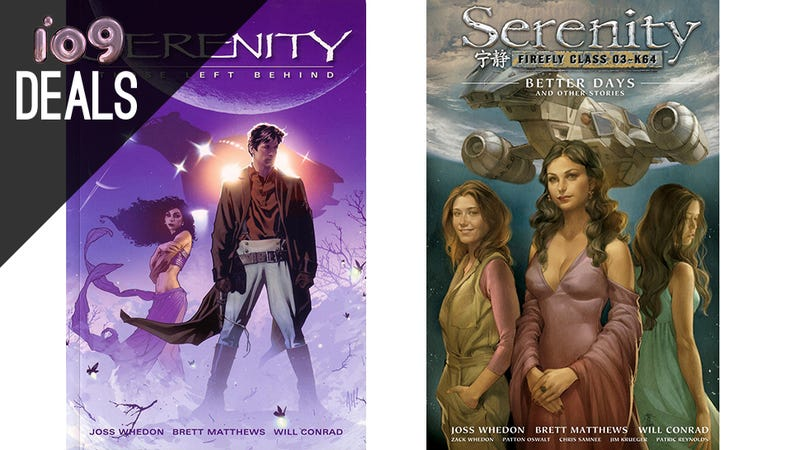 Firefly Graphic Novels, Star Trek Blu-rays, Frozen, Seinfeld [Deals]