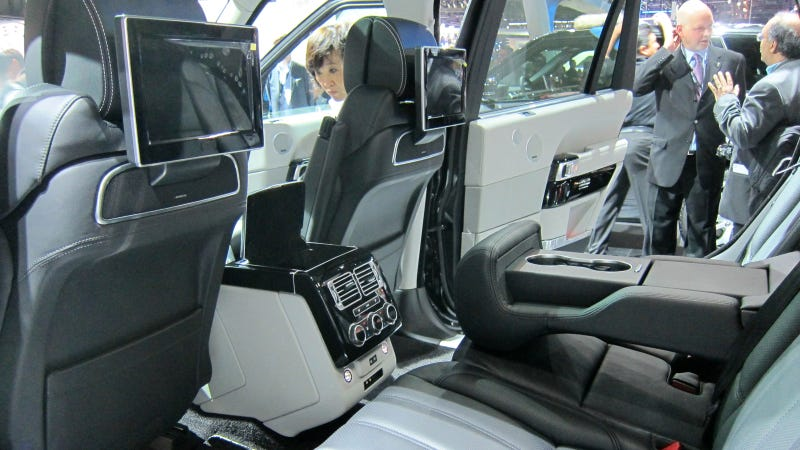 The Range Rover Long Wheelbase Has More Name To Go With More Space