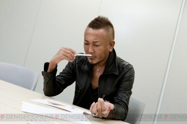 Yakuza Designer Sniffing a White Line