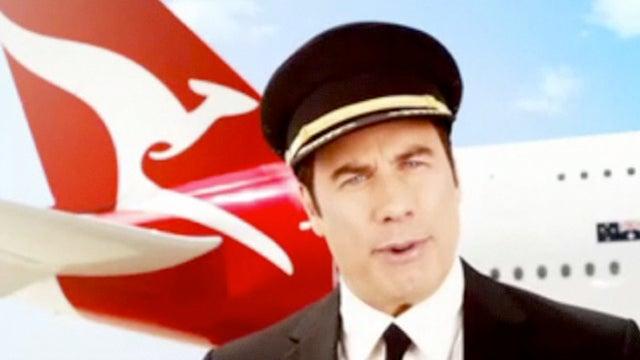 The John Travolta's In-Flight Video That's Pissing Off Australia