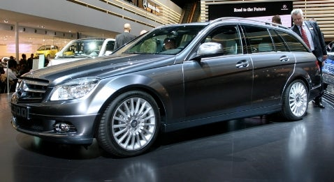 Frankfurt Auto Show: Mercedes C-Class Estate and Other Hybrids