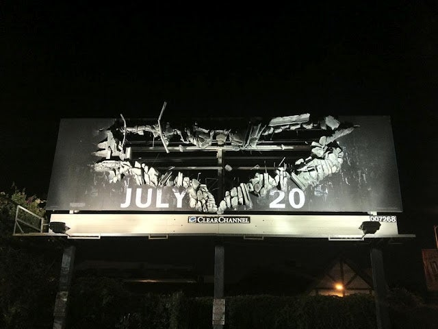 The Dark Knight Rises Posters and Billboards