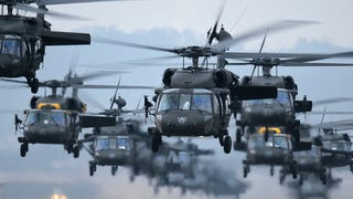 This Massive Black Hawk Assault Force Is Stunningly Intimidating