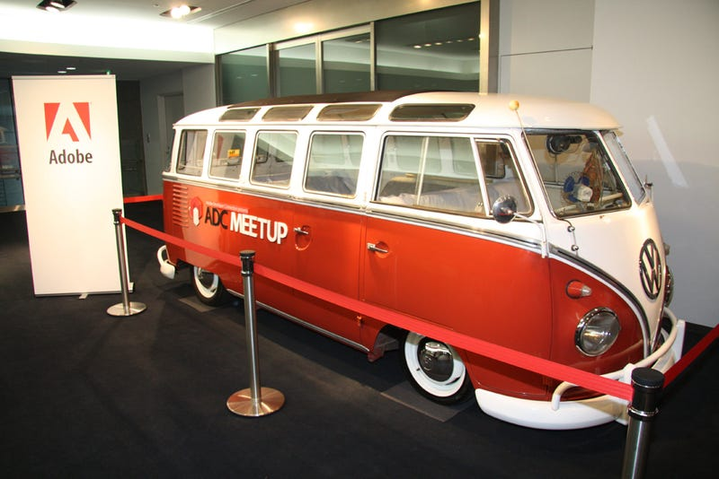 The Adobe Flash VW Bus