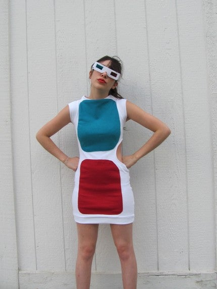 I'm Gonna Wear This Mini Dress For A Full Body 3D Experience