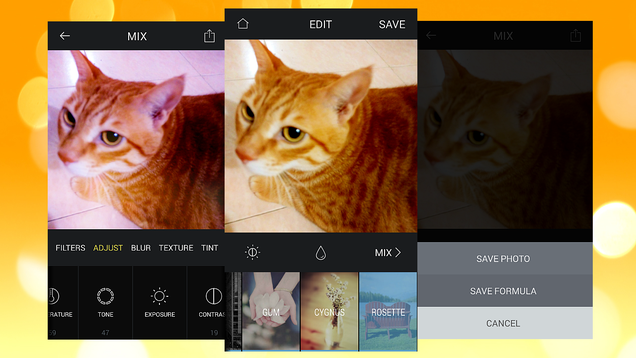 Mix Creates Your Own Custom Filters for Photos