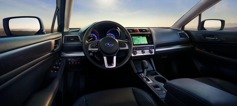 The 2015 Subaru Legacy Gets 36 MPG Highway