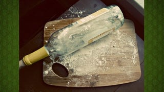Use an Empty Wine or Liquor Bottle as a Rolling Pin