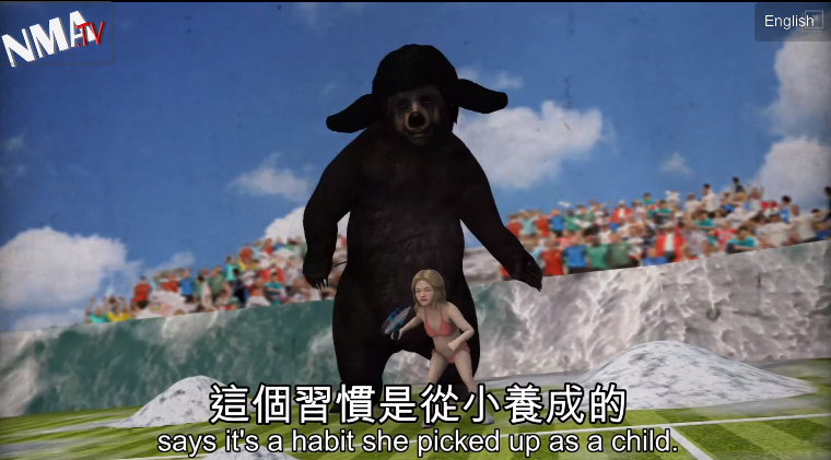 The 15 Most Surreal Moments From 2012's Sports-Related Next Media Animation Videos