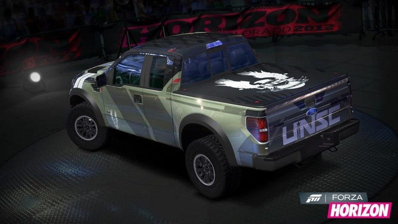 This Halo Raptor In Forza Horizon Is As Close As You'll Get To A Sim Warthog