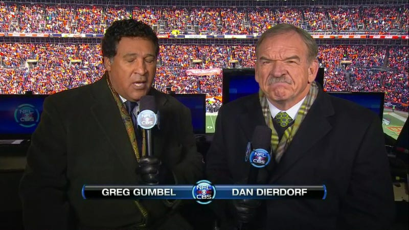 Dan Dierdorf: Cartoonish Grump
