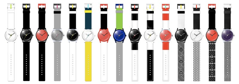 Cheap, Colorful Solar-Powered Watches That Require No Maintenance