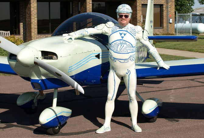 Tron Guy Forced to Sell Plane on eBay Due to Crap Economy