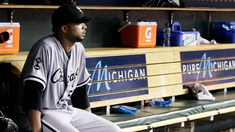 Another Weird Baseball Injury: Francisco Liriano Broke His Arm While Trying To Scare His Children
