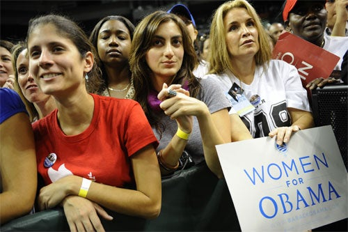 Barack Obama Is A Win For Women