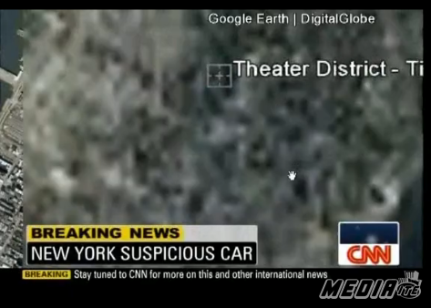 CNN Thinks Google Earth 'Blurred Out' Times Square After Attack