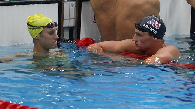 Olympic Swimmers Already Humping, Or Possibly Preparing To Hump, Australian Newspapers Report