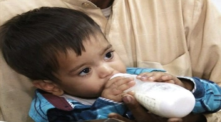 9-Month-Old Baby Accused of Trying to Murder Police in Pakistan