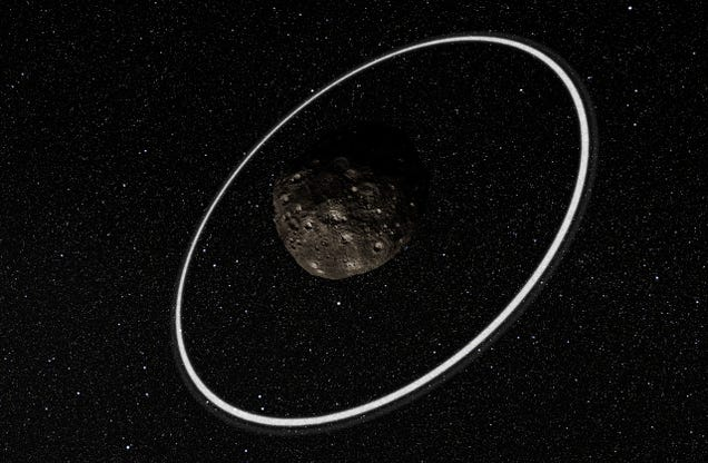 Why Does This Tiny Asteroid Have Two Rings?